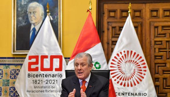El Ministerio de Relaciones Exteriores está a cargo de Óscar Maúrtua. (Foto: Cancillería)