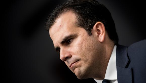 El gobernador de Puerto Rico, Ricardo Rosselló, reiteró este martes que no renunciará. (Foto: AFP)