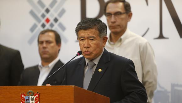Nelson Chui, director ejecutivo de la Autoridad para la Reconstrucción con Cambios (ARCC). (Foto: GEC)