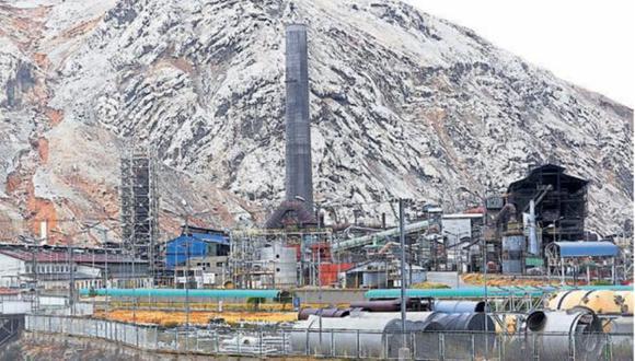 Venta a la vista. Las operaciones de la refinería de La Oroya se encuentran paralizadas parcialmente. (Perú21)