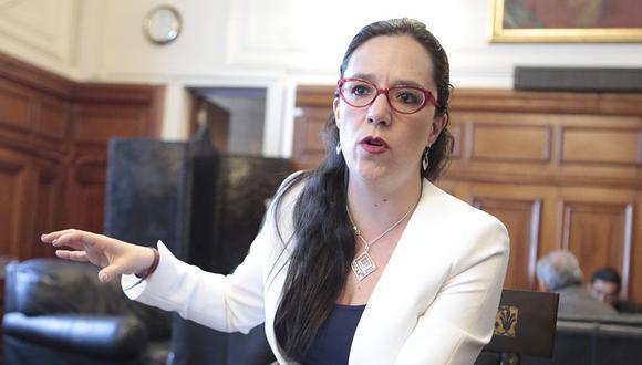La congresista de Nuevo Perú, Marisa Glave, cuestionó a la Mesa Directiva que presidió Luis Galarreta, de Fuerza Popular, hasta junio de este año. (Foto: USI)