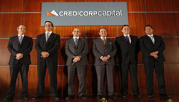 El equipo de Credicorp. (Difusión)