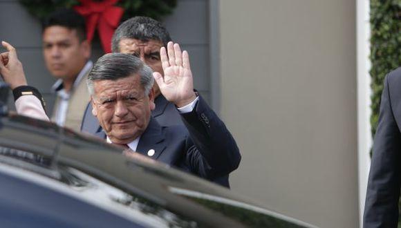 César Acuña expondrá su pedido ante juez. (Anthony Niño de Guzmán/Perú21)