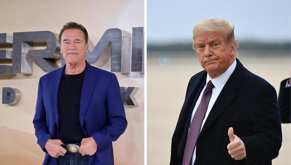 Arnold Schwarzenegger dio un fuerte discurso contra el presidente Donald Trump en redes sociales.(Foto: Olivier Doulivery / Tolga Akmen / AFP)