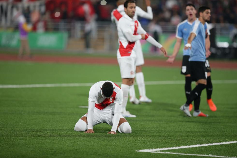 Perú cayó 2-0 ante Uruguay por el Grupo B de fútbol masculino de Lima 2019. (Jesus Saucedo / GEC)