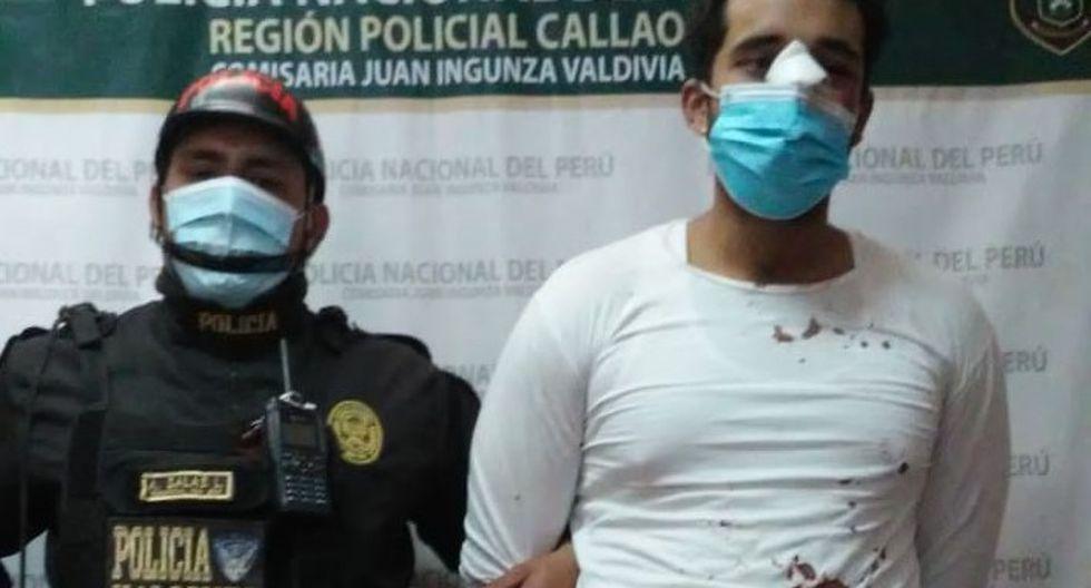 Cómplice del menor, un venezolano, fue atrapado por los vecinos que luego  lo entregaron a la Policía. (PNP)