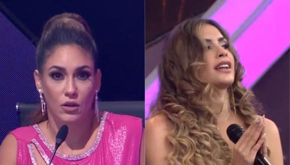"""Tilsa Lozano criticó presentación de Milett Figueroa en """"El artista del año"""". (Foto: Captura América TV)"""