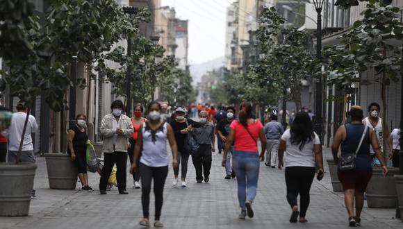 Jirón de la Unión es una de las zonas más transitadas de Lima. (Fotos Diana Marcelo / GEC)