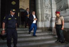 Humberto Acuña: Juez ordena que sentencia no se ejecute hasta que resuelva casación