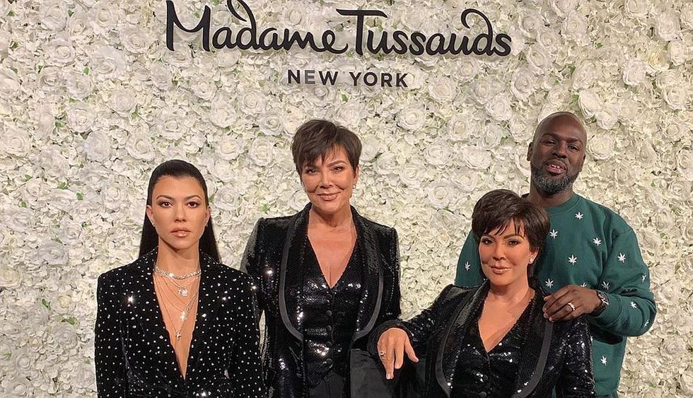 Kris Jenner sorprendida con su nueva figura de cera en el Madame Tussauds de Nueva York. (Foto: @krissjenner)