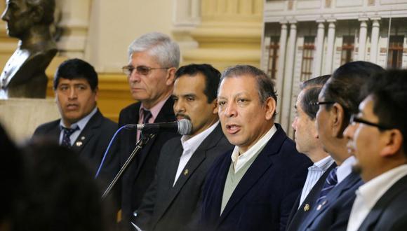 La bancada del Frente Amplio había solicitado el cierre del Congreso tras el archivo de la destitución contra Pedro Chávarry. (Foto: Difusión)
