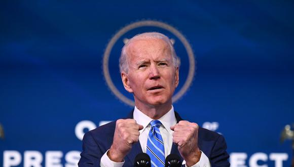 Joe Biden  prometió ante sus funcionarios que cuando sea él quien se equivoque, asumirá las responsabilidades. (Foto: JIM WATSON / AFP)
