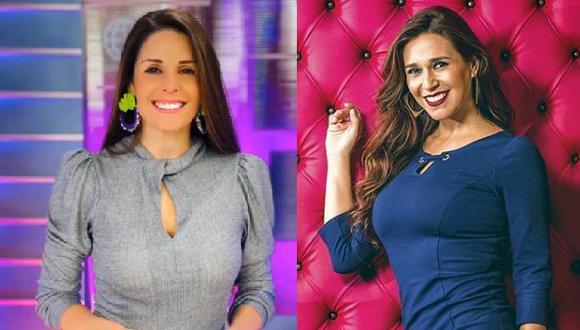 Verónica Linares y su comentario a Rebeca Escribens por su vestuario. (Foto: Instagram)