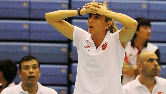 Natalia Málaga hizo un gran trabajo con el equipo de menores. (USI)