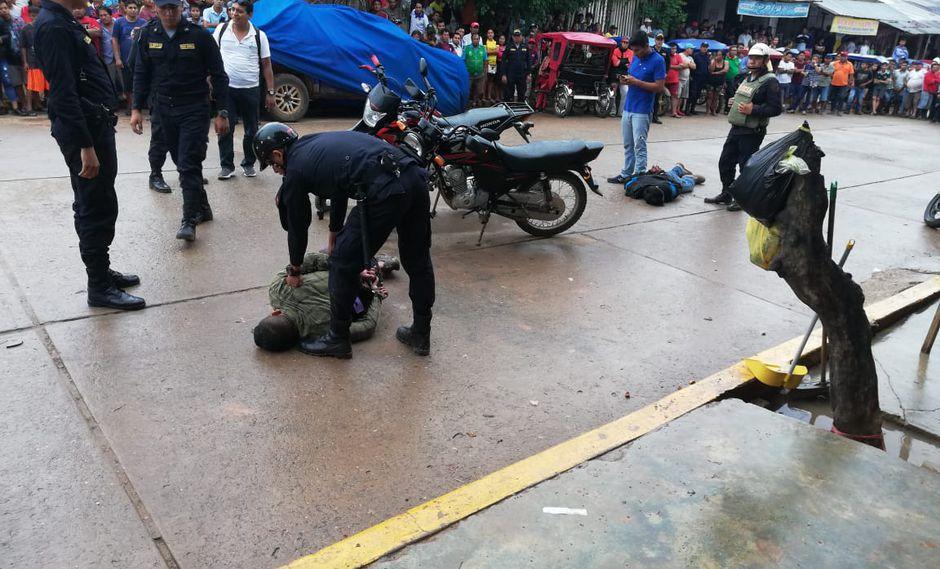 Maleantes se enfrentaron a balazos a la Policía. (PNP)