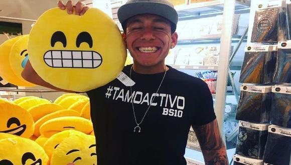 Quiso presumir de su tatuaje pero se burlaron de él. (Instagram)