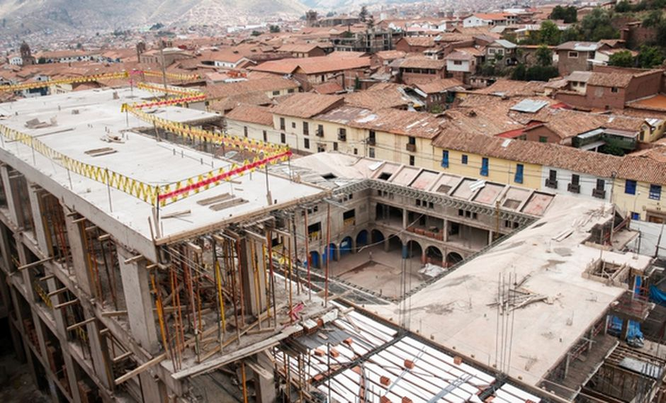 La infraestructura construida se encuentra dentro de la Zona Monumental y del Ambiente Urbano Monumental de Cusco. (Foto: Ministerio de Cultura)