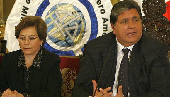 García defendió la gestión de Echaíz en el Ministerio Público. (César Fajardo)