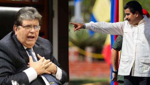 Alan García mantiene sus diferencias con el régimen chavista. (Fotos: Peru21/EFE)