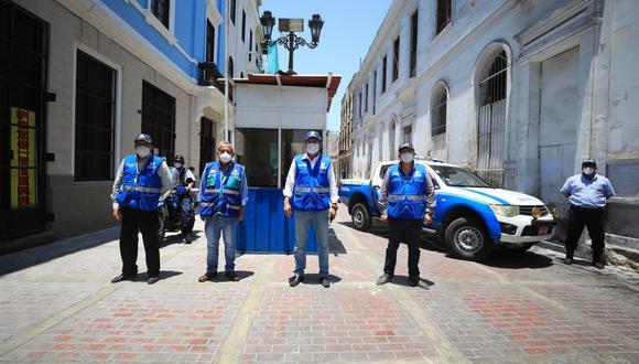 La Municipalidad de Lima indicó que agentes de Serenazgo permanecerán de manera constante en el jirón Contumazá. (Foto: MML)
