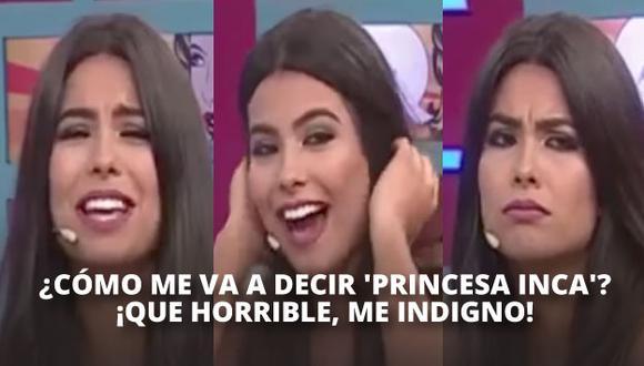 Ivana Yturbe no quiere que Neymar la llame 'Princesa inca' y le dicen de todo.