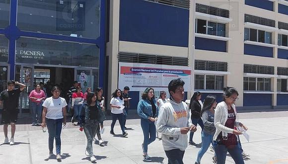 Rinden prueba 738 postulantes a Beca 18 en Tacna