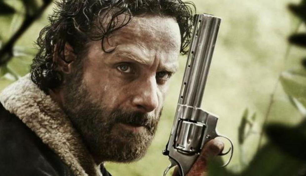 Andrew Lincoln tomó la decisión de dejar 'The Walking Dead' por una razón que no es refutable: extraña a sus hijos. (AMC)