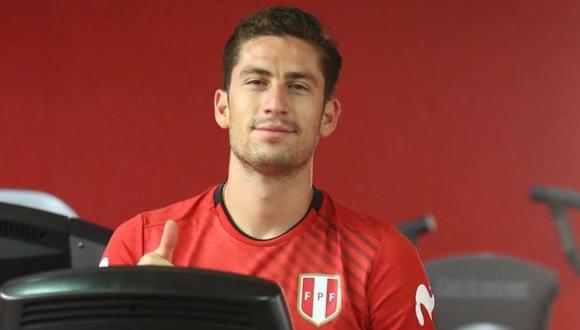 Santiago Ormeño fue suplente e ingresó a los 83 minutos, por Gianluca Lapadula. (Foto: FPF)