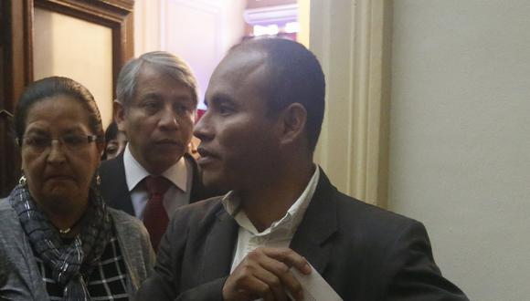 El congresista de Fuerza Popular, Federico Pariona, dijo que la discusión fue por un evento en el que participó con Israel Lazo en Junín. (Foto: USI)
