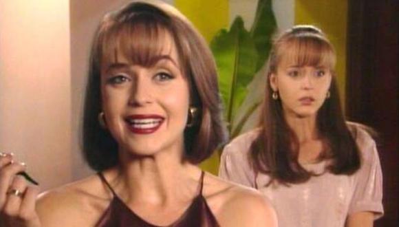 Daniela Spanic fue la hermana gemela de la 'Usurpadora'. Fue la doble de su hermana en algunos capítulos de la telenovela mexicana (Foto: Televisa)