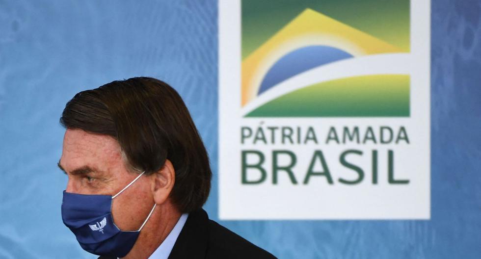 Imagen del presidente de Brasil, Jair Bolsonaro. (Foto: EVARISTO SA / AFP).