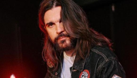 El cantante colombiano conquistó a sus primeros admiradores con un poco de rock y metal (Foto: Juanes / Instagram)
