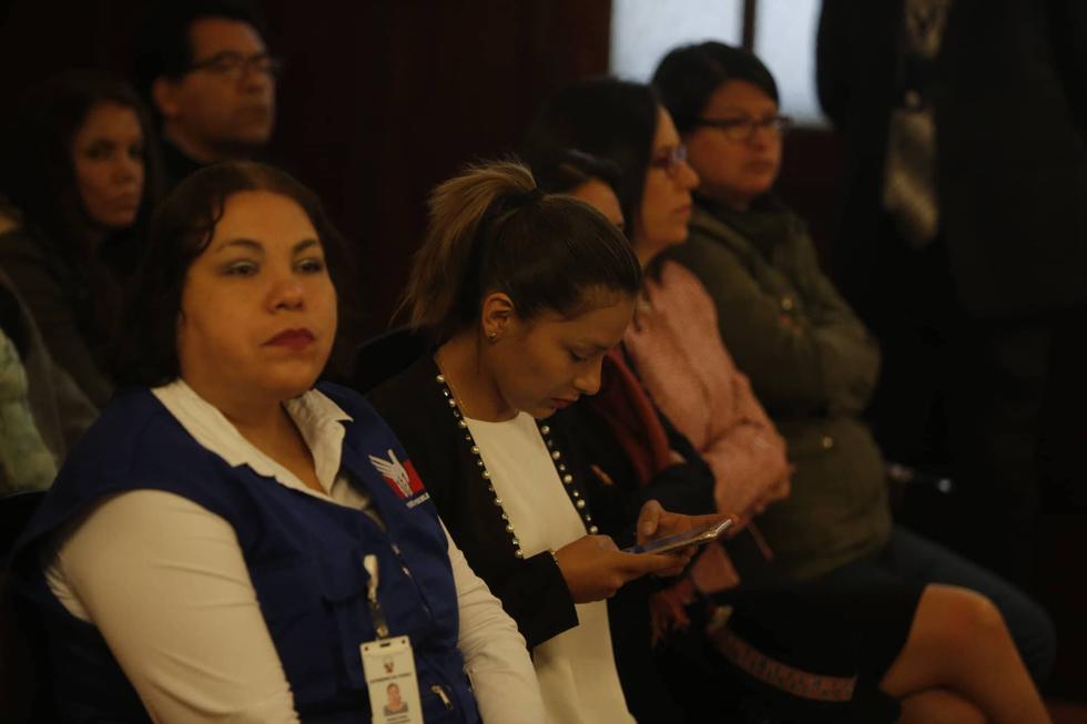 Arlette Contreras no desvanece en su búsqueda de justicia, pese a que está muy cansada emocionalmente. (Mario Zapata/Perú21)