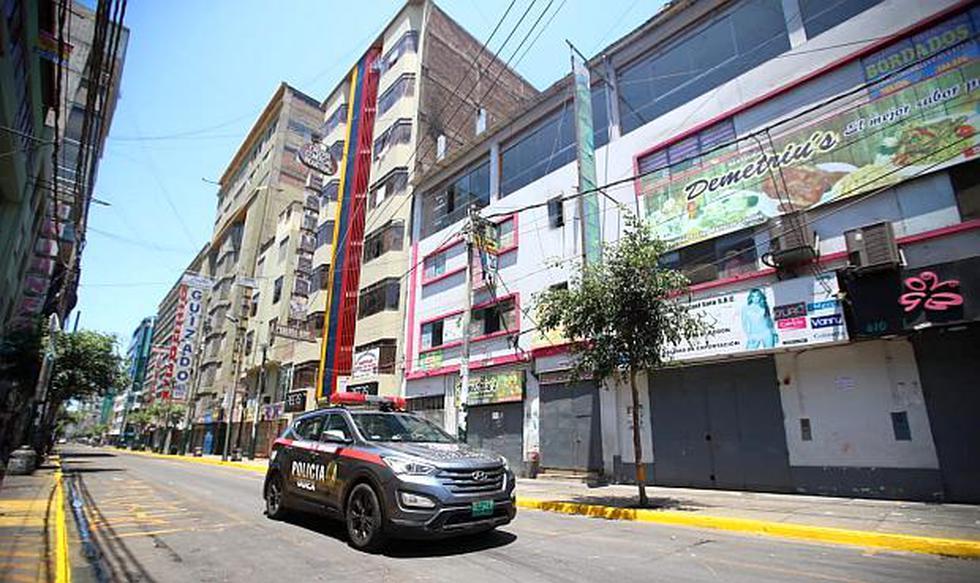 Los más de 40,000 establecimientos comerciales de Gamarra permanecerán cerrados por tres días para el retiro de los ambulantes y restablecer el orden en la zona. (Foto: GEC)