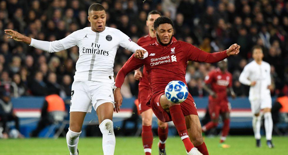 ¡A octavos! PSG venció 2-1 al Liverpool por la Champions League 2018. (AFP)