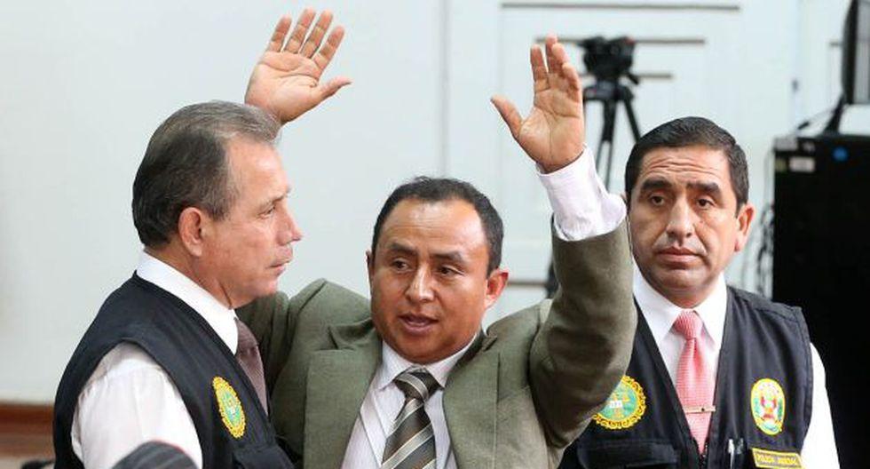 INPE evalúa autorizar participación del recluido Gregorio Santos en debates de candidatos presidenciales. (Perú21)