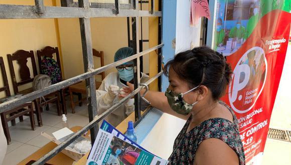 Piura: realizan aplicación de pruebas rápidas a pobladores de Sechura por el COVID-19 (Foto: Diresa).
