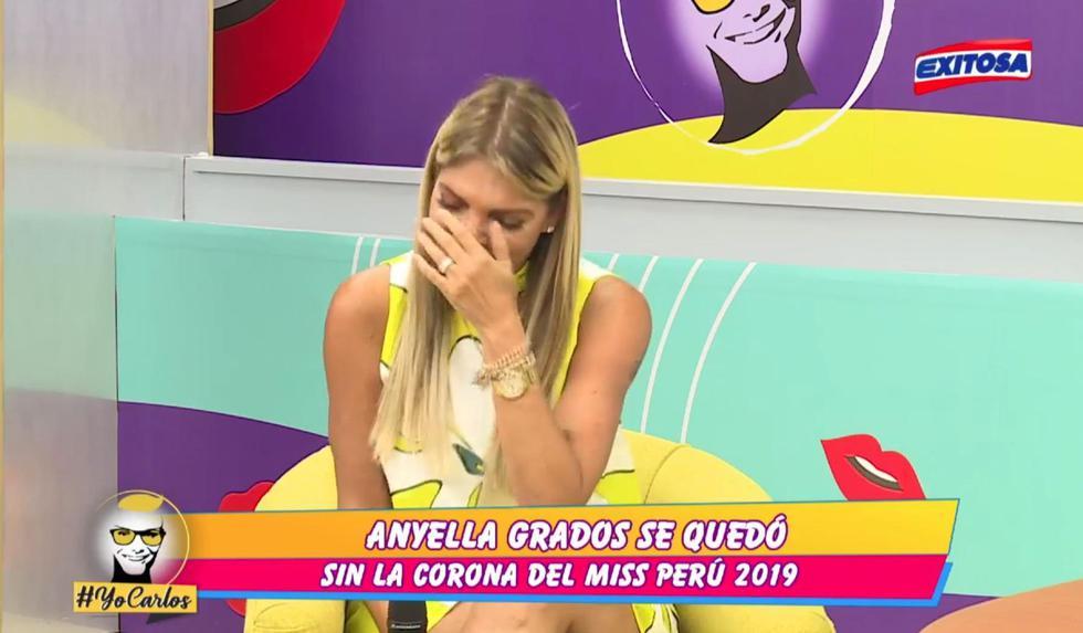 Así reacciona Jessica Newton por la crisis en el Miss Perú. (Foto: Exitosa)