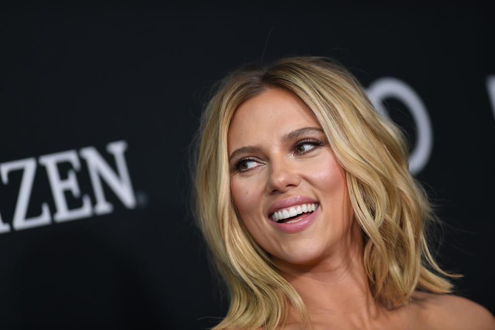 Scarlett Johansson se robó las miradas en el Avant Premiere de la cinta. (Foto: AFP)