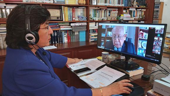 Marianella Ledesma expondrá el informe de calificación ante el TC en una sesión reservada. (Foto: Difusión)