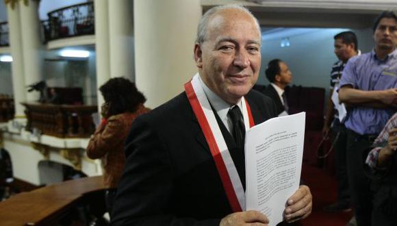 Danmert fue asesor del sindicato de Enapu. (David Vexelman/Peru21)