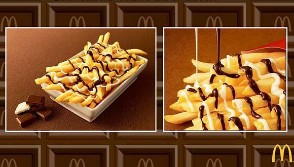 Mc Donald's ofrece una inusual combinación de sabores. (@McDonaldsCorp en Twitter)
