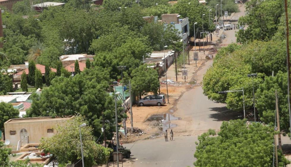 Así lucen las calles de Jartum tras matanza de opositores. (Foto: EFE)
