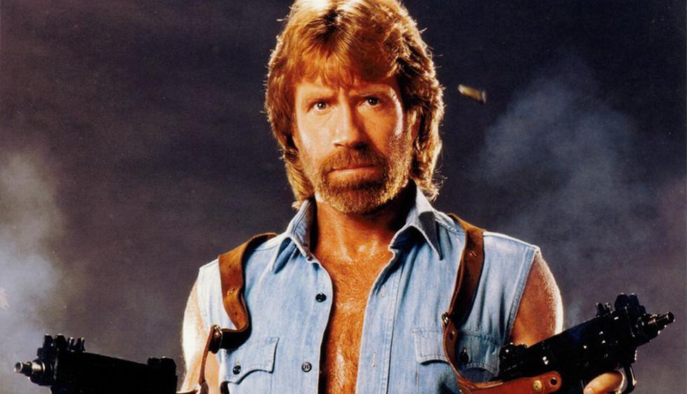 Rudo, vaquero y mil veces 'troleado', el conocido actor de Hollywood Chuck Norris está de fiesta y cumple 74 años de pura acción. (Internet)