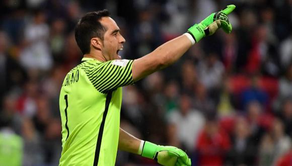 Bravo fue clave en el pase a la final de Chile. (AFP)