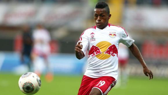 Yordy Reyna no tiene mucha continuidad en el Red Bull Salzburg. (Perú21)