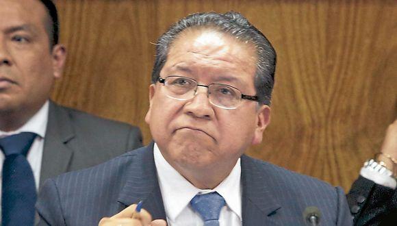 Pablo Sánchez estuvo en Cajamarca. (USI)
