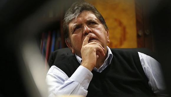El Poder Judicial archivó esta semana informes contra García. (César Fajardo)