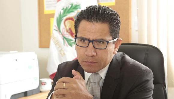 El procurador anticorrupción Amado Enco cuestionó investigación del fiscal Germán Juárez. (GEC)
