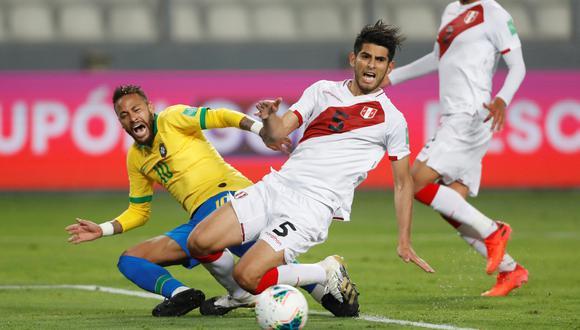 Pedro Gallese recibió 4 goles de Brasil en el Nacional de Lima. (Foto: Reuters)